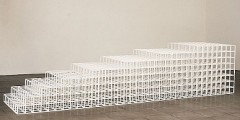 Sol Lewit, 1990 'Open Geometric Structure 1'